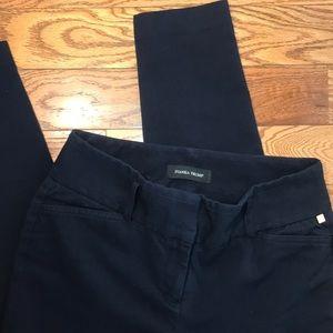 Ivanka Trump | Dark Blue Straight Leg Dress Pants